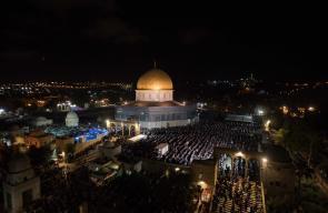 أكثر من ربع مليون مسلم يحيون ليلة القدر في المسجد الأقصى