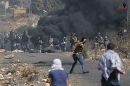 15 اصابة في قمع الاحتلال لمسيرة كفرقدوم