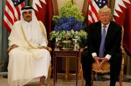 ترامب لأمير قطر : مستعد بشكل جدي لانهاء الأزمة