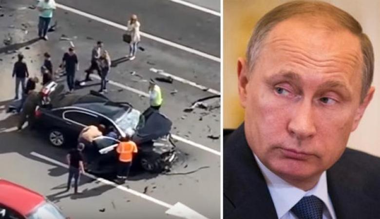 """نجاة"""" بوتين من الموت.. تعرُّض سيارة الرئيس الروسي لحادث ومقتل قائدها"""