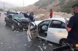 """مصرع """"مواطنين واصابة 236 آخرين """" في حوادث سير بالضفة الغربية"""