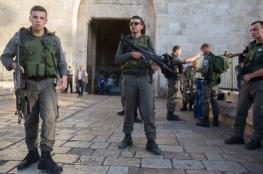 دوريات وقوات خاصة اسرائيلية تجوب شوارع القدس بشكل مكثف