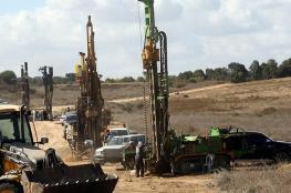 3.34 مليار شيكل تكلفة بناء سور لمواجهة انفاق قطاع غزة