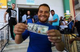 قطر تبدأ بصرف مساعدات نقدية  لـ 100 ألف اسرة فقيرة بغزة