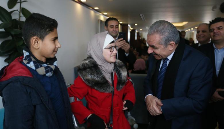 اشتيه : أهلنا في غزة جزء لا يتجزأ من شعبنا