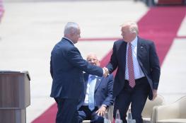 ترامب : الاسرائيليين لن يضطروا الى الهروب من صواريخ حماس