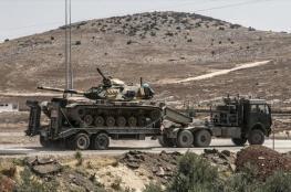 تركيا تدفع بتعزيزات عسكرية جديدة الى الحدود مع سوريا