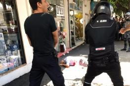 اصابة فلسطيني بجراح بزعم تنفيذه عملية طعن بنتانيا