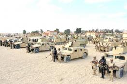 """الجيش المصري يقتل """"6 """" مسلحين في العريش"""