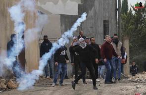 اصابات في قمع الاحتلال لمسيرة كفرقدوم قضاء قلقيلية