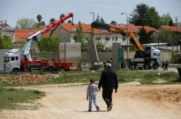اسرائيل بصدد اعادة بناء 4 مستوطنات في جنين