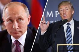 """ترامب يستعد لمكالمة نظيره الروسي """" بوتين """""""