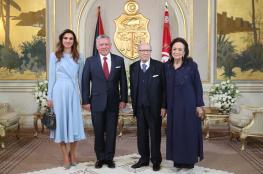 الملك عبد الله الثاني يصل تونس في زيارة رسمية