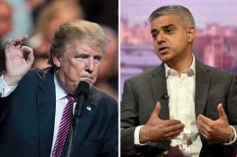 ترامب يهاجم عمدة لندن المسلم : عذرك مثير للشفقة