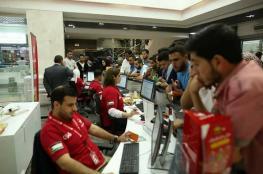 الوطنية موبايل تبيع 120 الف شريحة اتصال في غزة خلال شهر واحد فقط