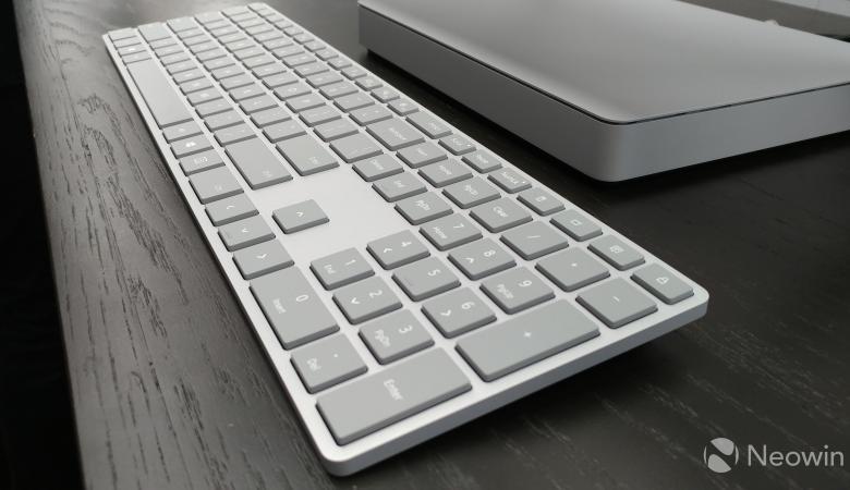 لوحة مفاتيح جديدة لمايكروسوفت مُزوّدة بقارئ للبصمة