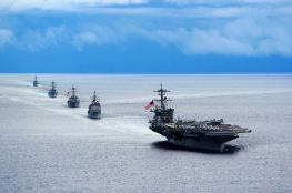 مجموعة ضاربة من الأسطول البحري الامريكي تتوجه الى المتوسط