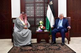 وزير الشباب والرياضة الكويتي يلتقي بالرئيس في رام الله