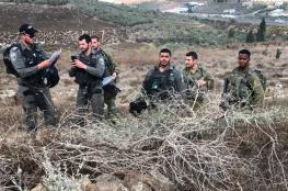 قوات الاحتلال تخطر بهدم بركس زراعي جنوب بيت لحم