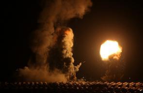 قصف اسرائيلي على مواقع في غزة