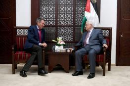 الرئيس : مصممون على انهاء الانقسام الفلسطيني