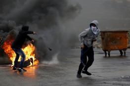 اصابات في مواجهات مع الاحتلال برام الله والخليل