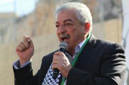العالول :  القيادة تسعى الى تحقيق الوحدة الوطنية لتحقيق أهداف الشعب الفلسطيني