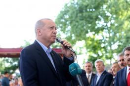 """اردوغان : """"موت مرسي لم يكن طبيعيا والسيسي جبان وظالم """""""