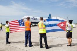 بعد 50 عاماً من القطيعة ...امريكا وكوبا تستأنفان الرحلات الجوية بينهما