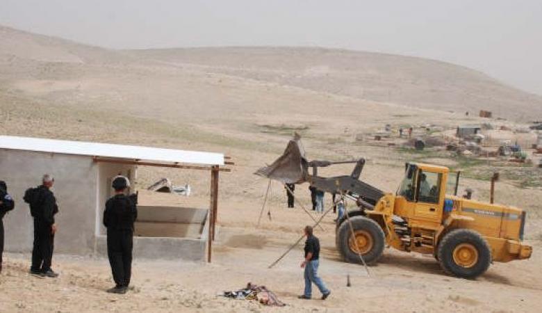 الاحتلال يهدم قرية  العراقيب للمرة الـ108