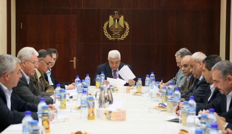 اللجنة التنفيذية تعقد اجتماعا لها في رام الله
