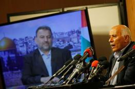 """قناة عبرية : اتفاق فتح وحماس """"خطير"""" وفاجئ المنظومة الامنية"""