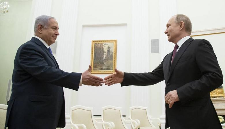 بوتين اول رئيس في العالم يهنئ نتنياهو بالحكومة الجديدة