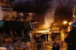 3 إصابات بحريق شمال جنين
