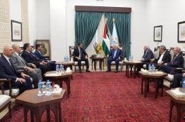 هذا ما بحثه الوفد الأمني المصري مع الرئيس وحركة فتح