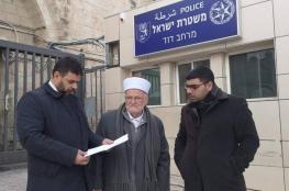 الاحتلال يصدر قرارا بابعاد خطيب المسجد الأقصى المبارك