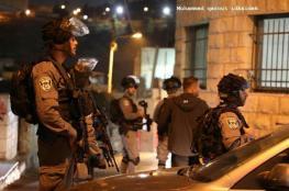 قوة خاصة اسرائيلية تعتقل 13 مقدسياُ في سلوان
