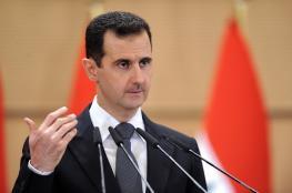 الاسد : الوضع في سوريا تحسن كثيرا والمجموعات الارهابية تتراجع
