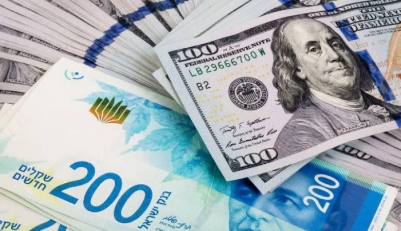 أسعار صرف الدولار مقابل الشيكل