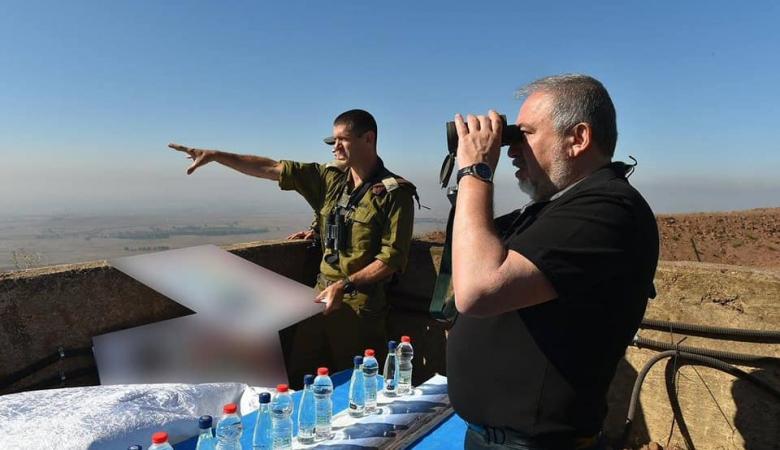 ليبرمان يتوعد ويهدد : سنقتل اي جندي سوري يتخطى المحظور