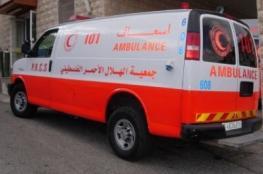 إصابة 5 مواطنين و7 من عناصر الشرطة في حادث سير بالخليل