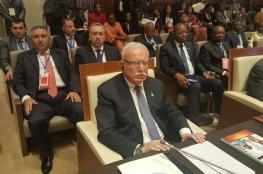 المالكي: الجهود العربية الافريقية ما زالت قادرة على القيام بواجباتها تجاه شعبنا
