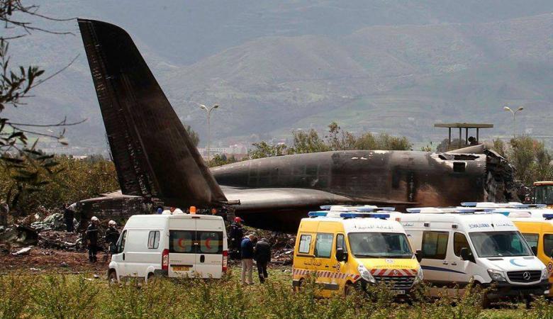 فلسطين تعزي الجزائر بضحايا تحطم الطائرة العسكرية