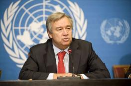 الأمين العام للأمم المتحدة: ليبرمان كاذب وقاد لتصعيد الأوضاع على حدود غزة