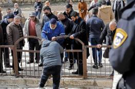 المقدسيون يؤكدون : لن نسمح لاسرائيل بأغلاق باب الرحمة