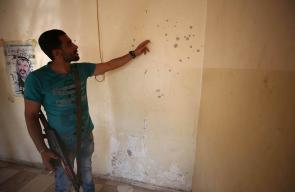 قوة اسرائيلية تحاصر مقر الامن الوقائي في نابلس وتطلق النار عليه