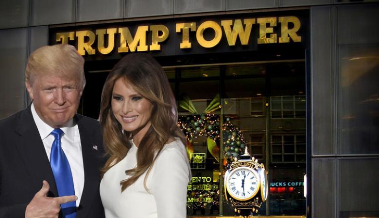 """النيران تلتهم اجزاءا من برج """"ترامب """" وسط منهاتن الأمريكية"""