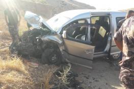 مصرع 3 مواطنين واصابة 220 مواطن في حوادث سير بالضفة الغربية