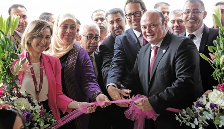 ارتفاع افرع بنك فلسطين الى 72 بافتتاح فرع الطيرة برام الله