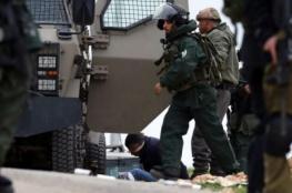 قوات الاحتلال تعتقل 8 مواطنين بالضفة